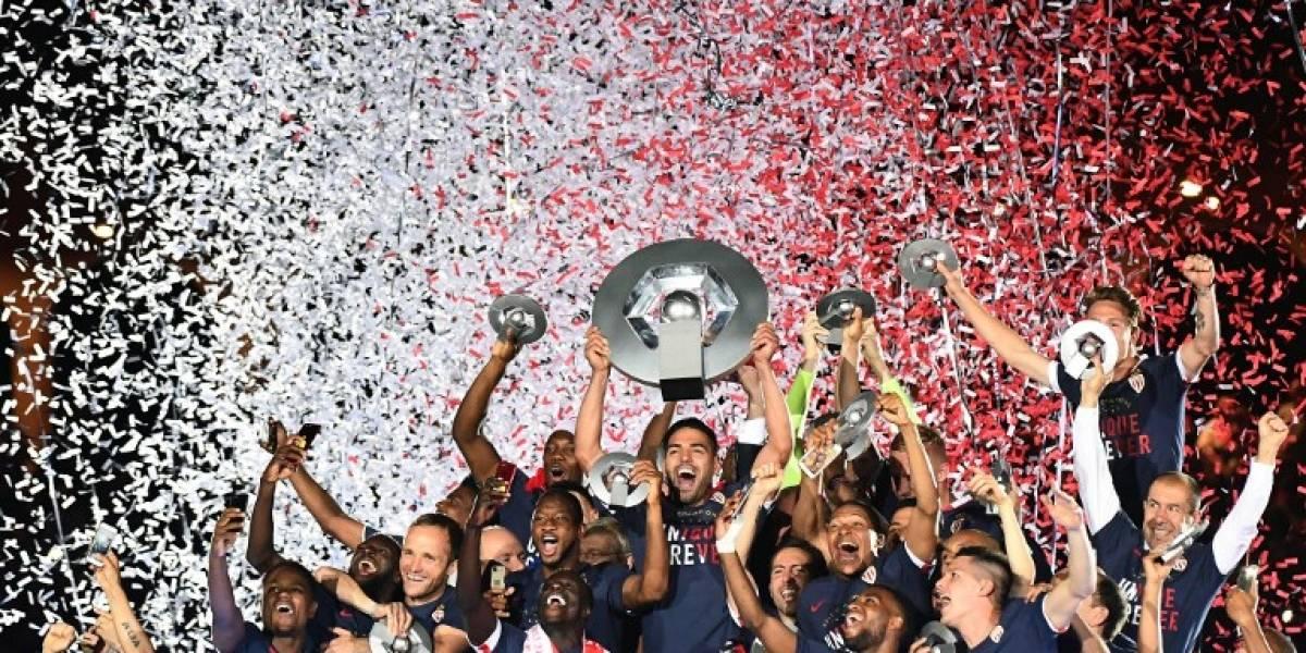 Mónaco quebró la dictadura del PSG y conquistó el título de la liga francesa