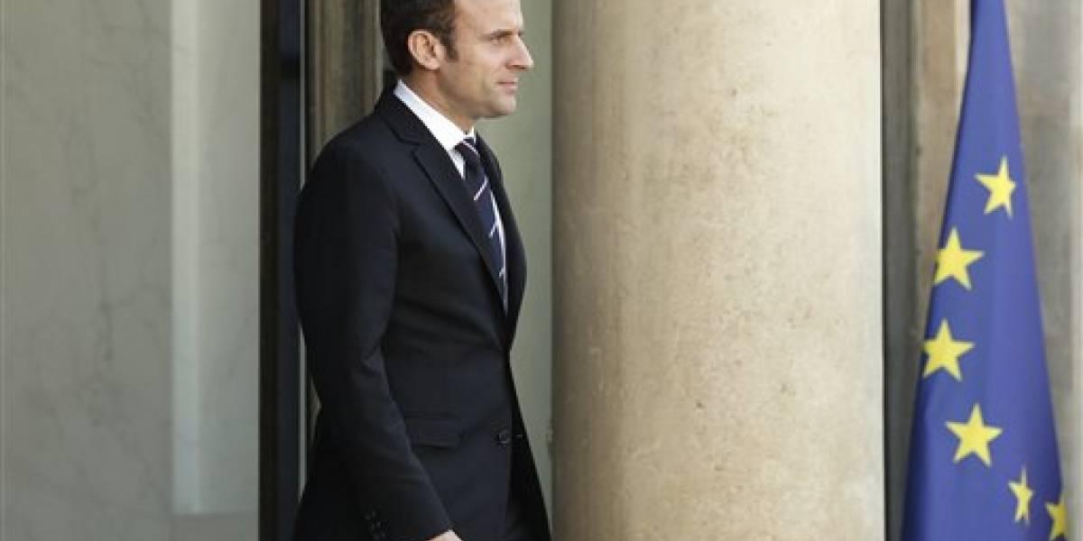 Nuevo presidente de Francia anuncia integrantes de su gabinete
