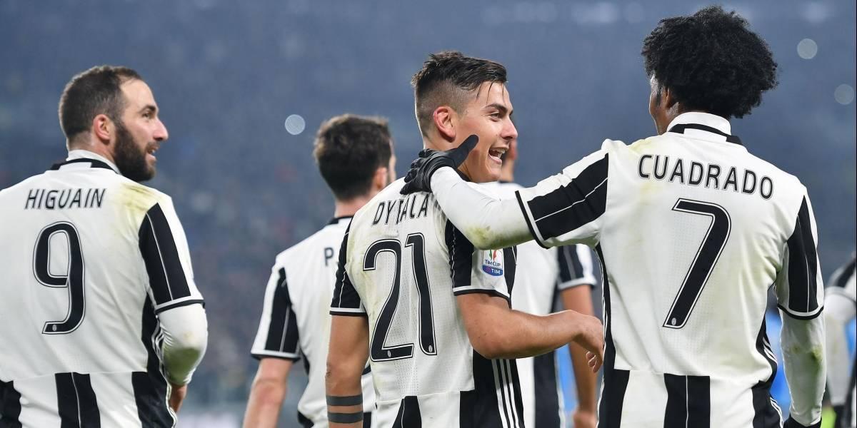 ¡El año Cuadrado! Juventus, campeón de la Copa Italia