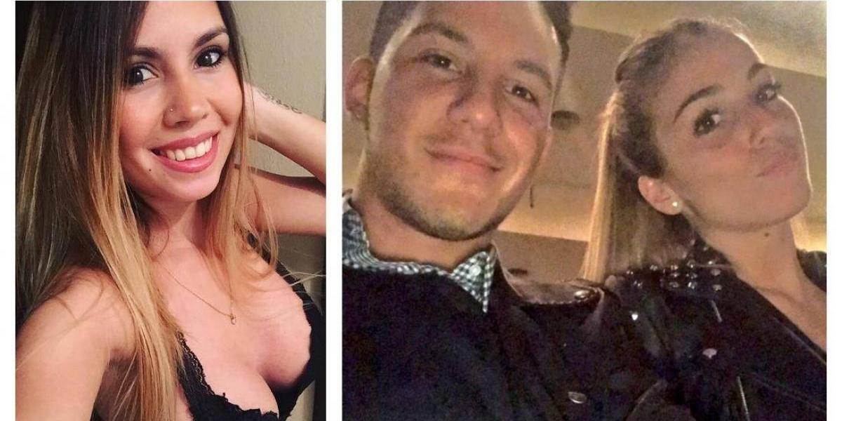 Ex novia evidencia infidelidad de jugador de River con fotos comprometedoras
