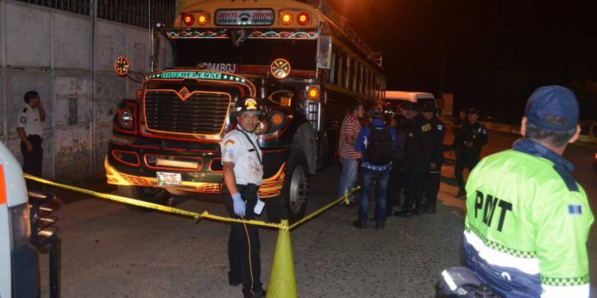 Se registra otro ataque armado a bus extraurbano con ruta a Quiché