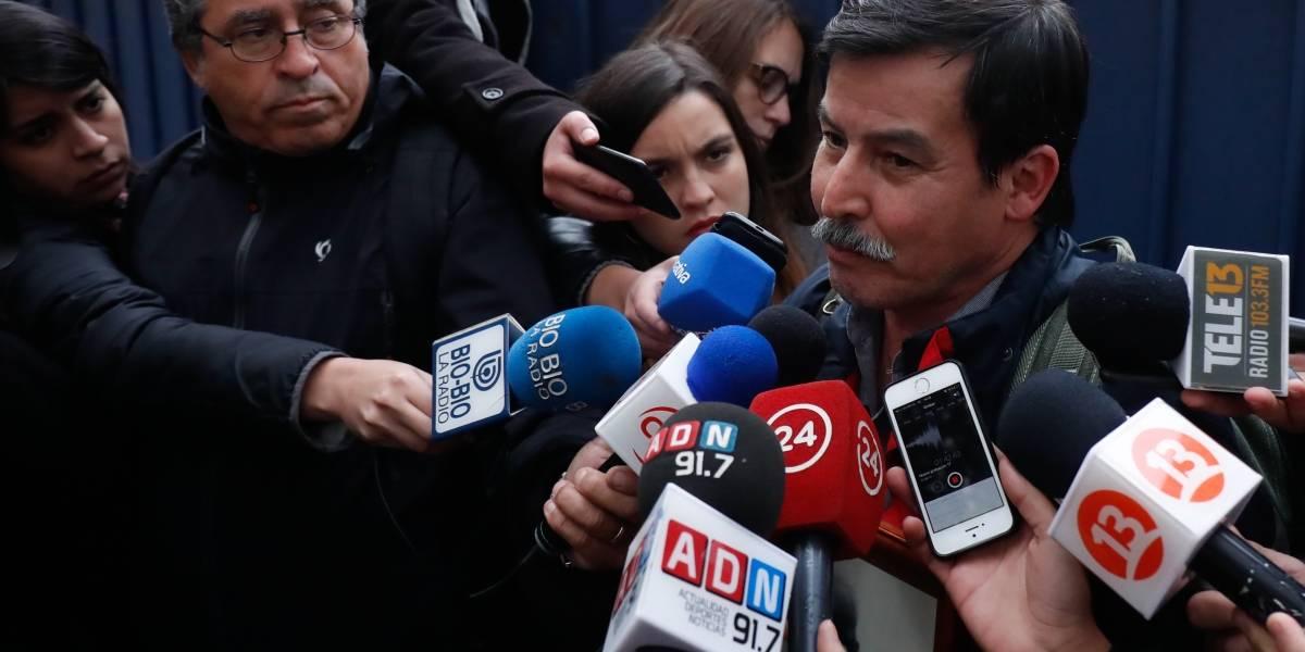 """Nicolás Barrantes por careo con Cheyre: """"Niega completamente que me conoce"""""""