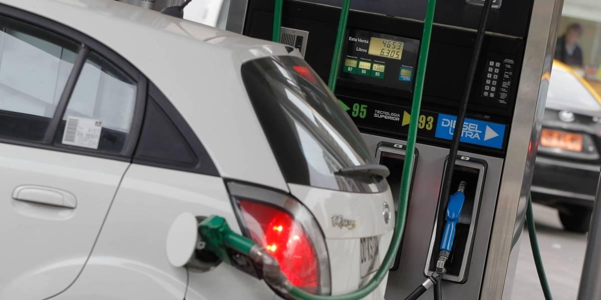 Precio de las bencinas registra nueva baja este jueves