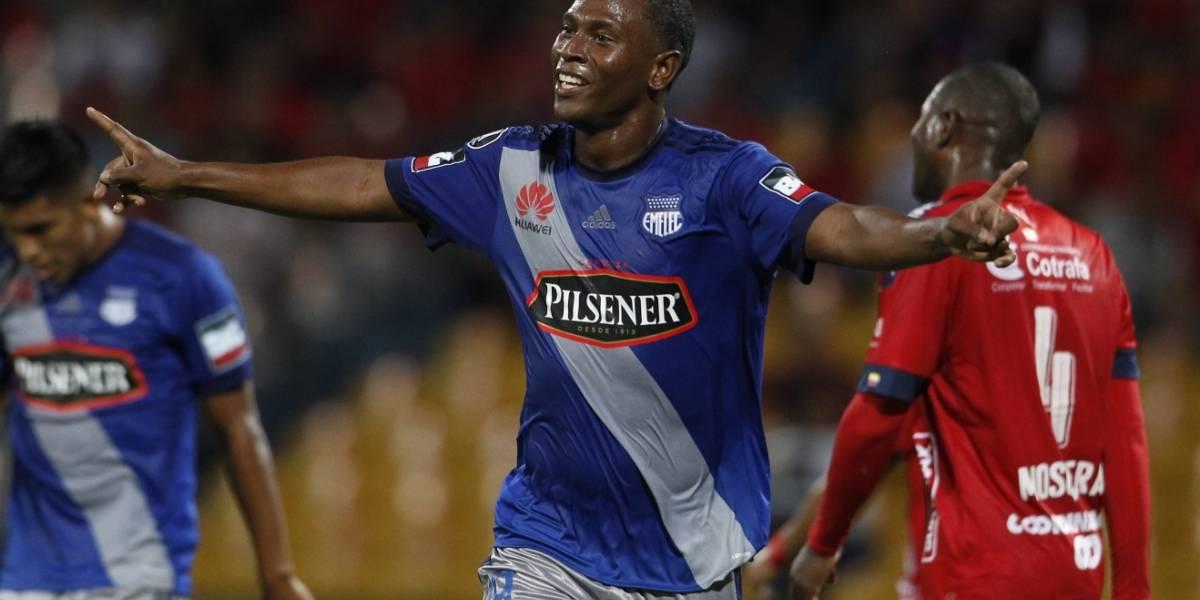 Medellín la tenía fácil y se complicó, perdió con Emelec en casa por Libertadores
