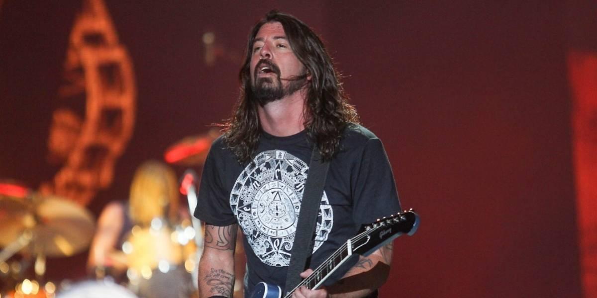 Foo Fighters presentó en vivo una nueva canción