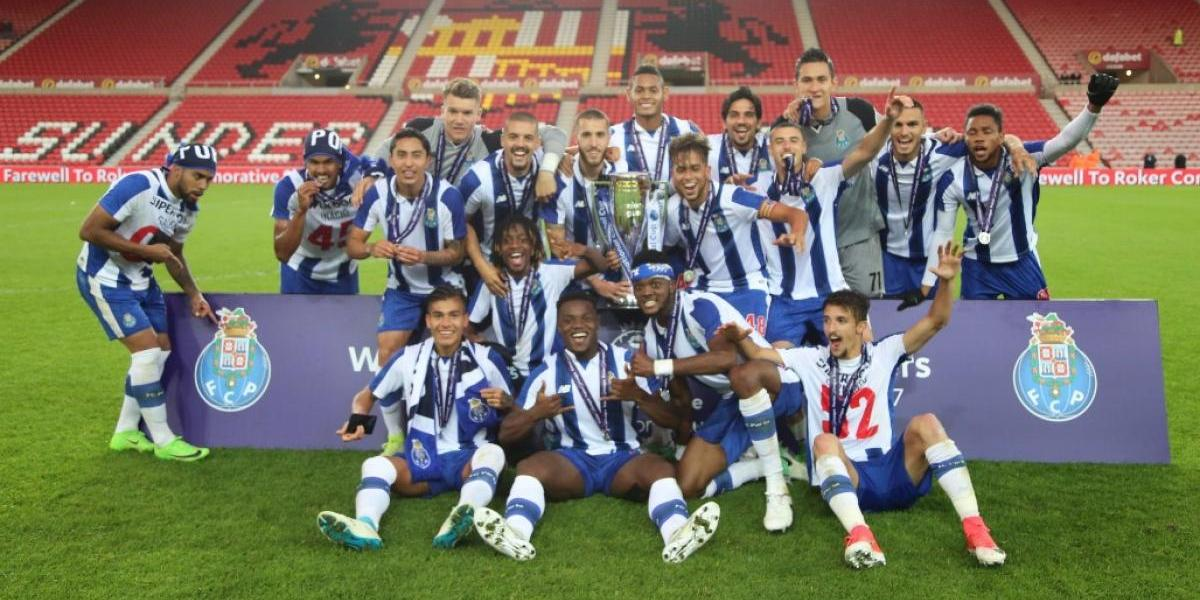 Mexicanos del Porto B conquistan la Premier League International Cup