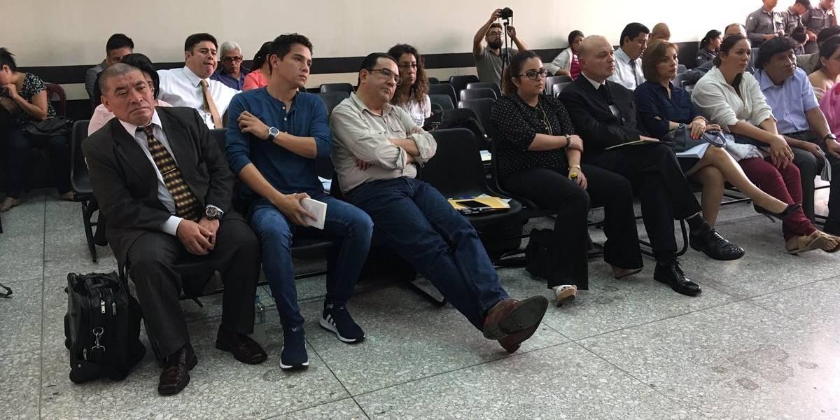 """Expone la defensa del hijo del presidente Jimmy Morales en el caso """"Botín"""""""