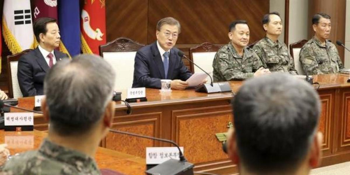 """Surcorea admitió la """"posibilidad de un conflicto militar"""" con Corea del Norte"""