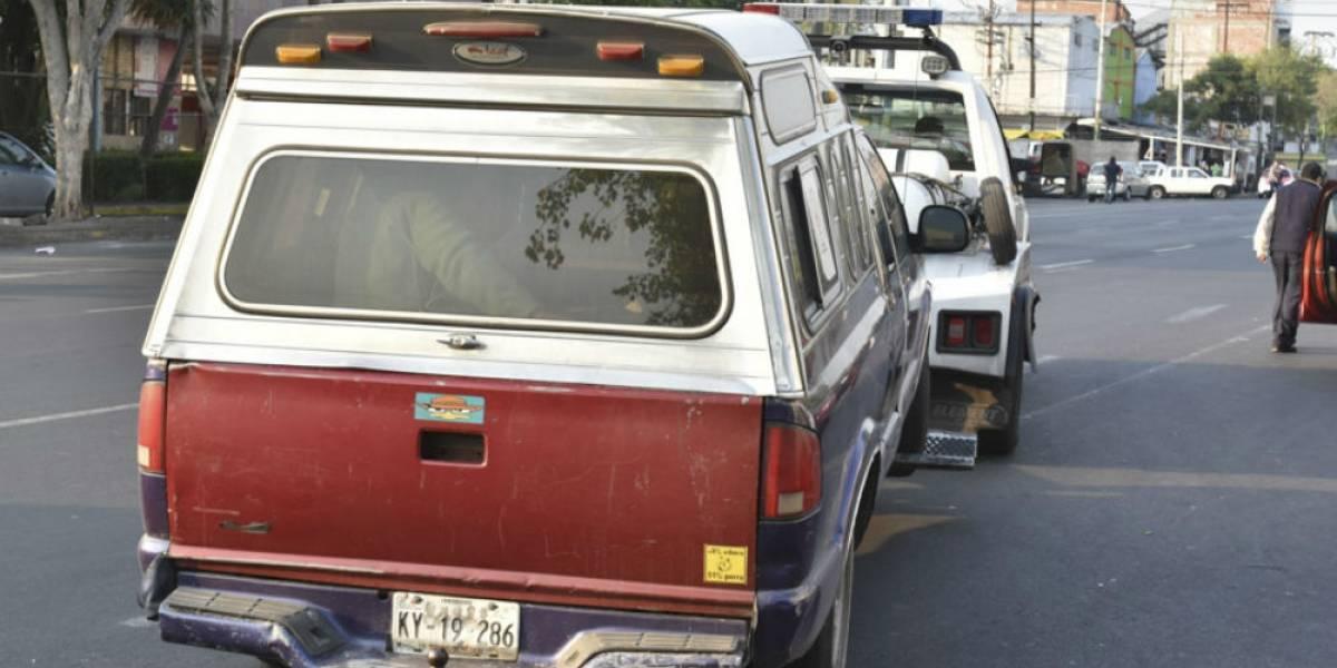 Mandan a 200 autos al corralón por no respetar contingencia ambiental