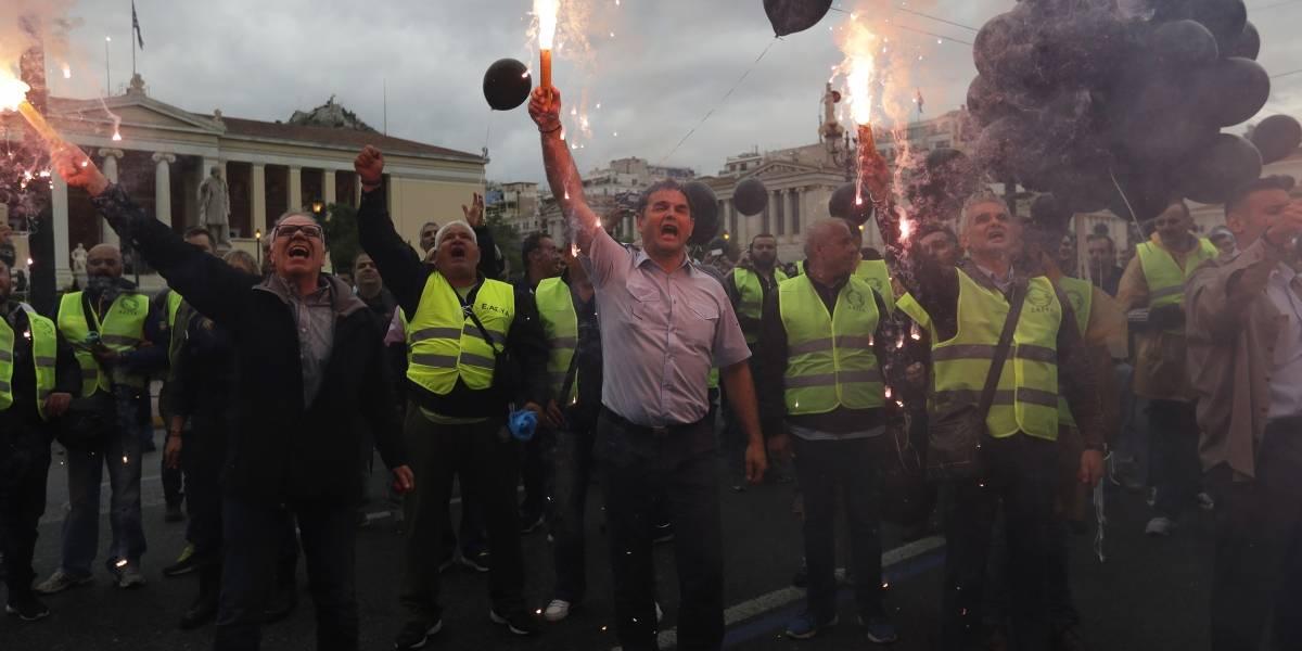 Huelga nacional y protestas en Grecia contra nuevas medidas de austeridad