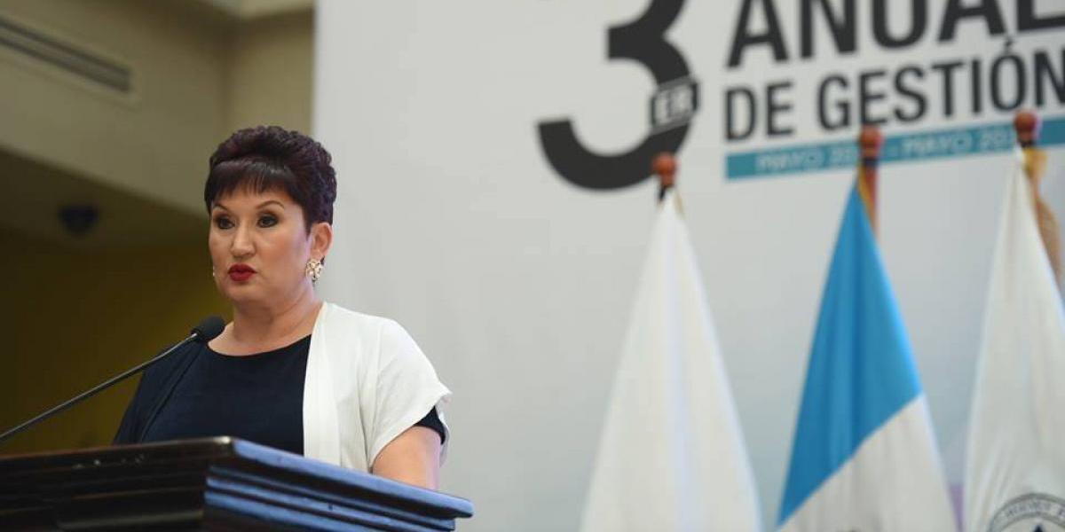 """Thelma Aldana: """"Necesitamos una reforma constitucional para fortalecer el sistema de justicia"""""""