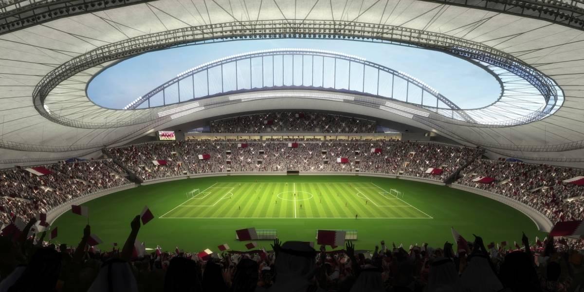 """FOTOS: Qatar estrena estadio """"refrigerado"""" de cara al Mundial del 2022"""