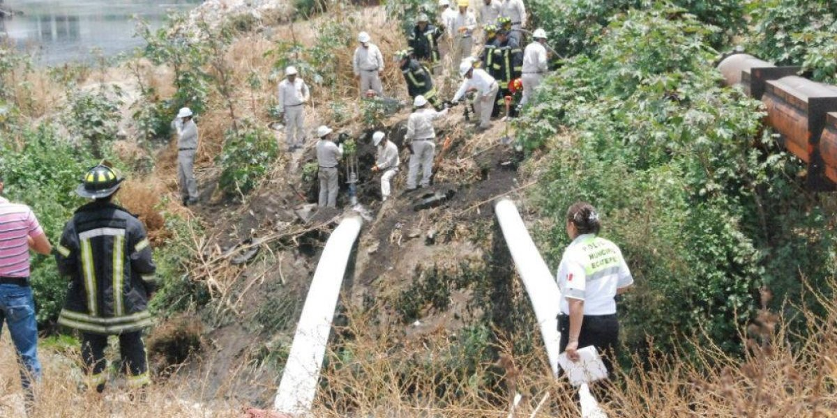 Aseguran toma clandestina de combustible en Hidalgo