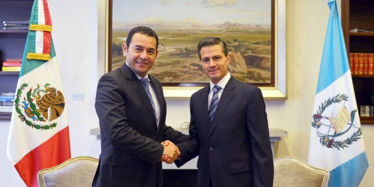 Presidente mexicano Peña Nieto visitará Guatemala hasta junio próximo