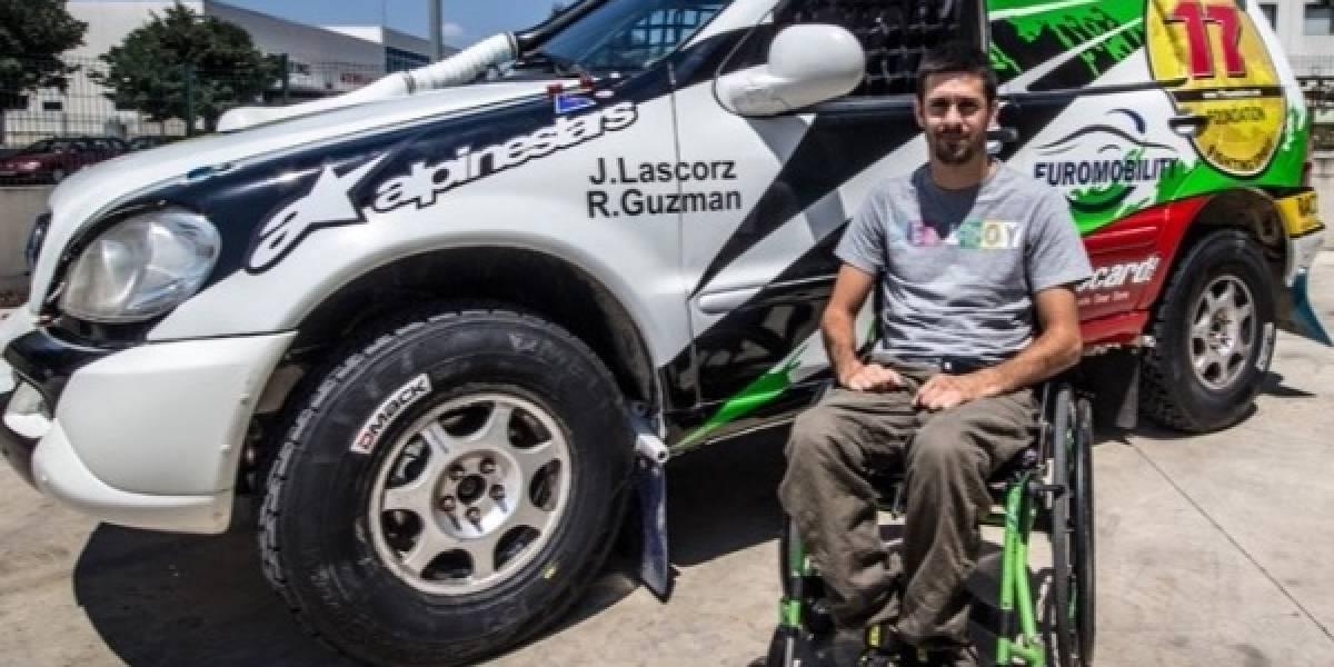 La historia del piloto tetrapléjico que busca llegar al Dakar