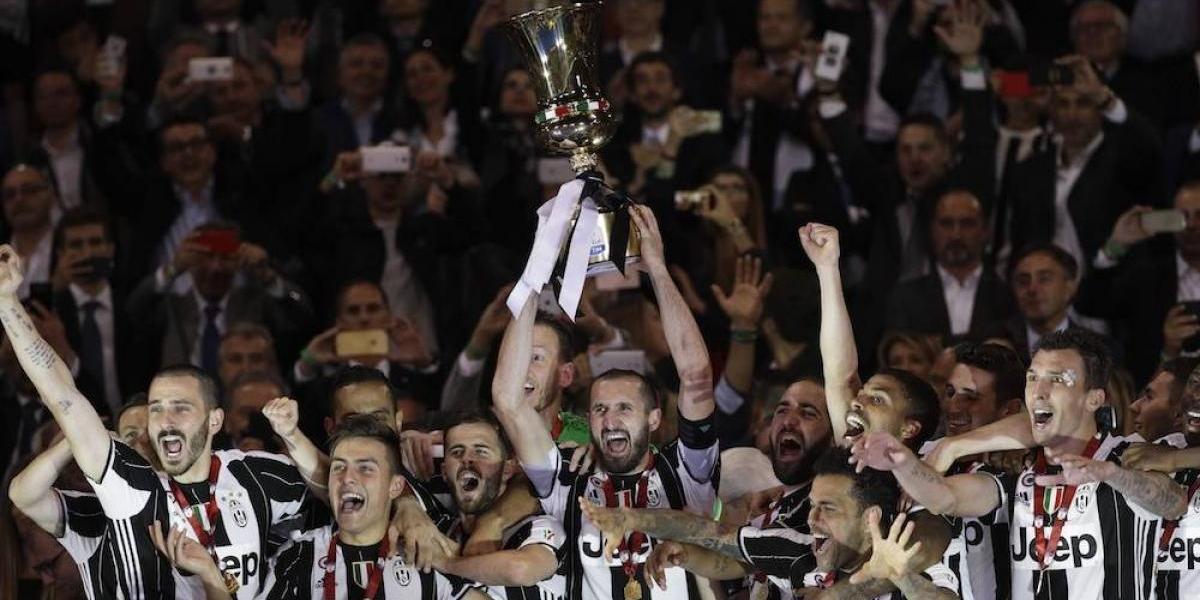 Juventus conquista la Copa Italia y sigue soñando con el triplete