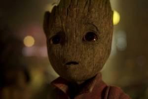 Revelan escena eliminada de Baby Groot en Guardianes de la Galaxia