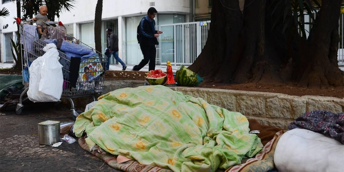 Ação para morador de rua de São Paulo terá mais vagas