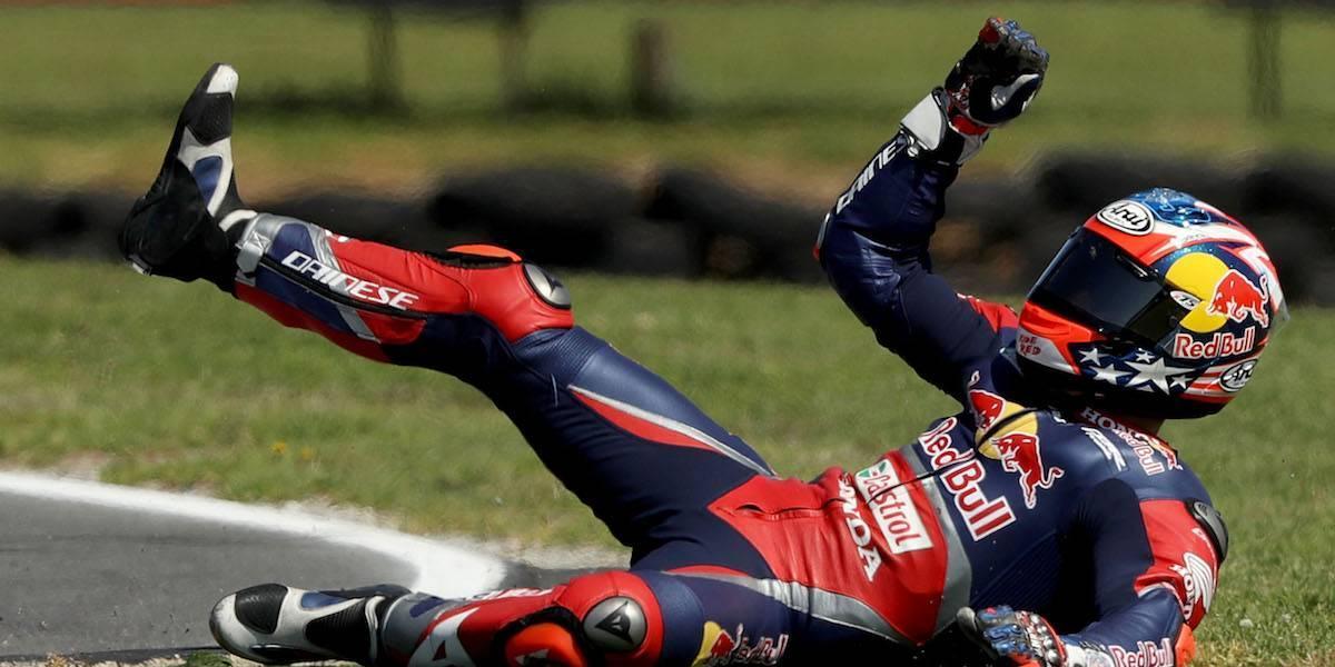 Motociclista, en estado grave tras ser atropellado mientras entrenaba