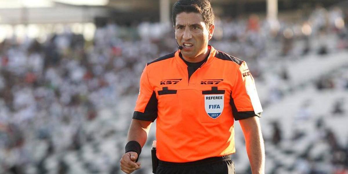 Eduardo Gamboa será el juez del partido donde la U puede ser campeón