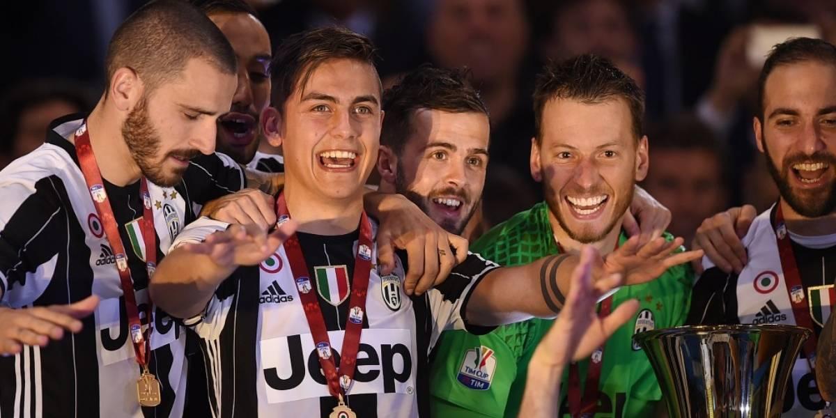 Juventus es campeón de la Copa de Italia
