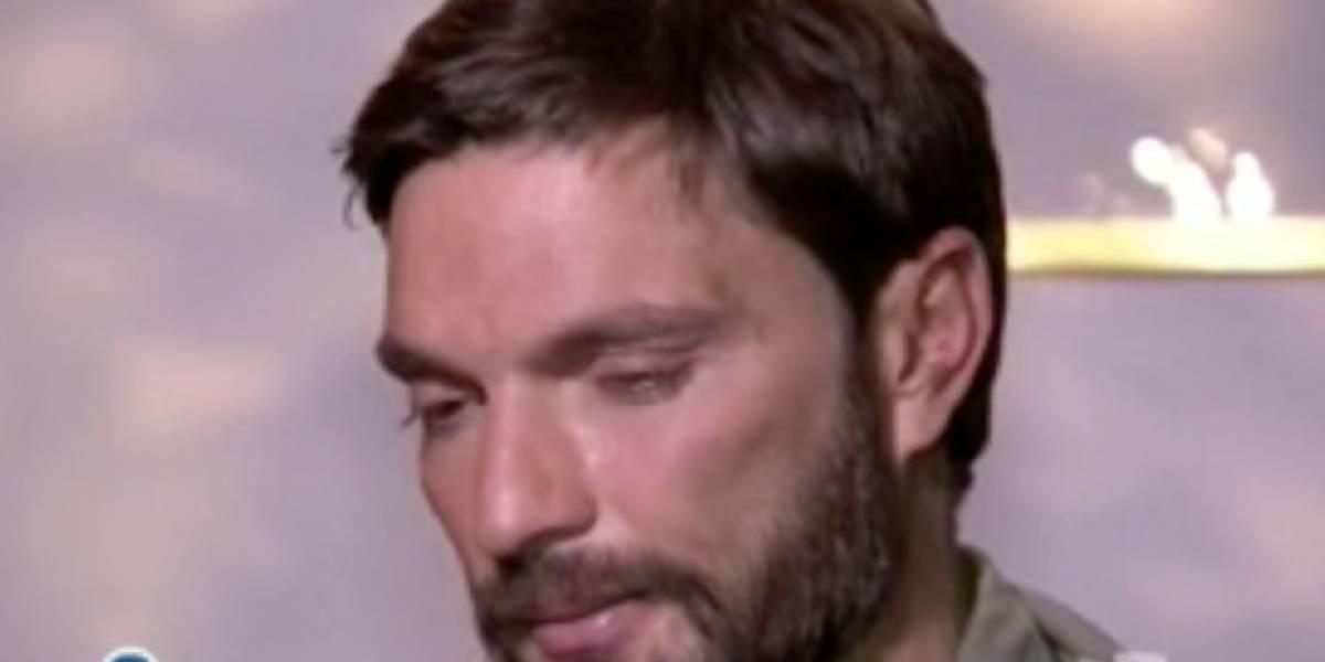 Julián Gil se quiebra tras hablar de su pequeño Matías