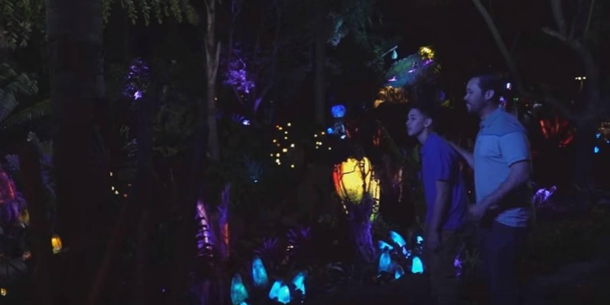 Primer vistazo a atracción de Avatar en Disney