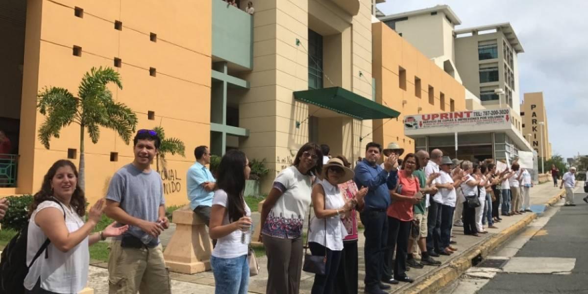 Grupo de profesores solicita acceso al campus UPR