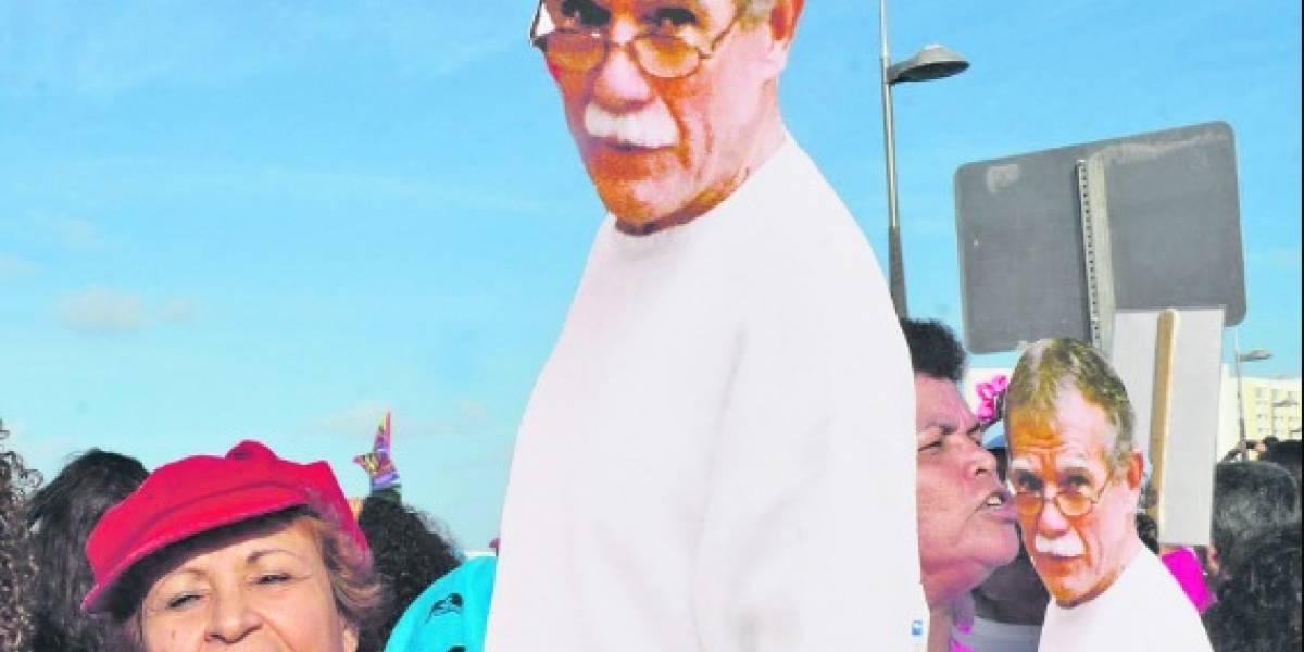 Oscar López ya es un hombre libre