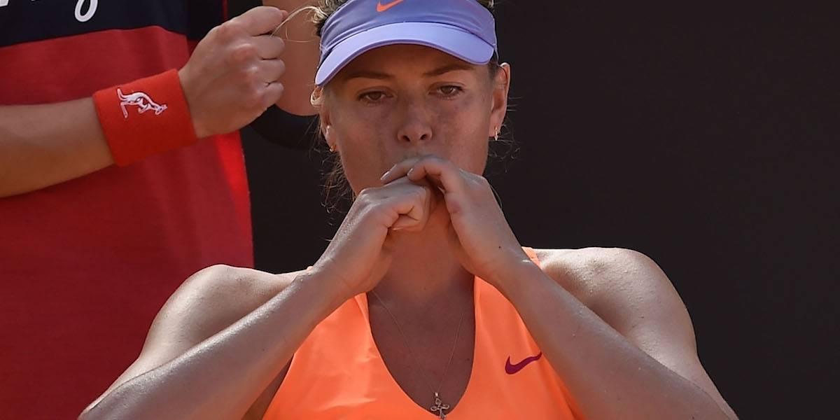 María Sharapova promete levantarse del duro golpe que le propinó Roland Garros