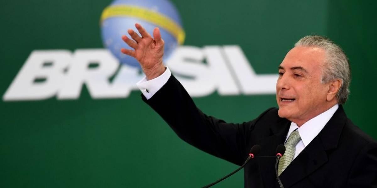"""""""No voy a renunciar"""": Michel Temer  se aferra a la presidencia ante escándalo de corrupción"""