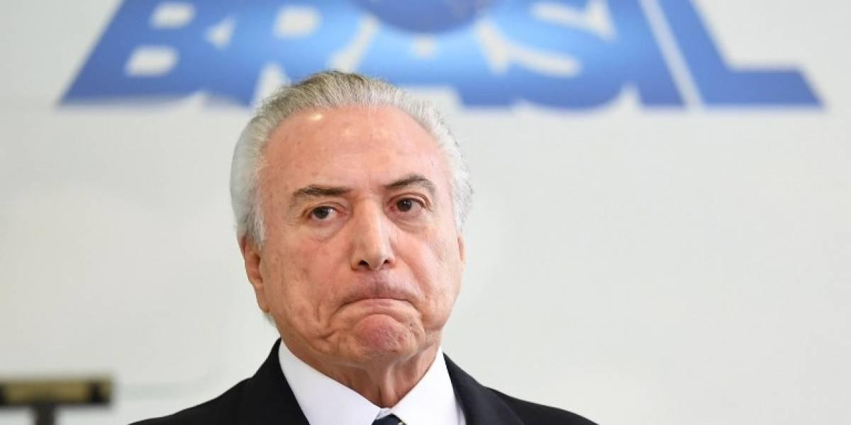 El Tribunal Supremo de Brasil autoriza la investigación contra Temer