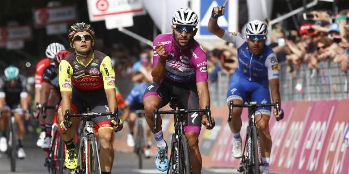 El colombiano Gaviria brilla otra vez y gana su tercera etapa del Giro de Italia 2017