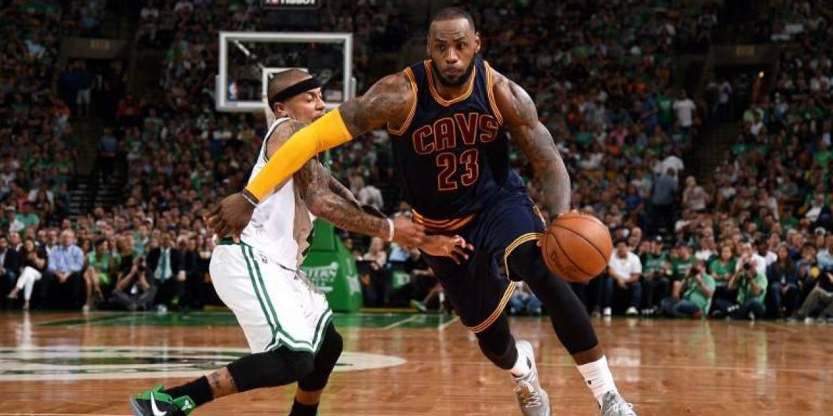 Cleveland se da un paseo por Boston y toma ventaja en la final del Este