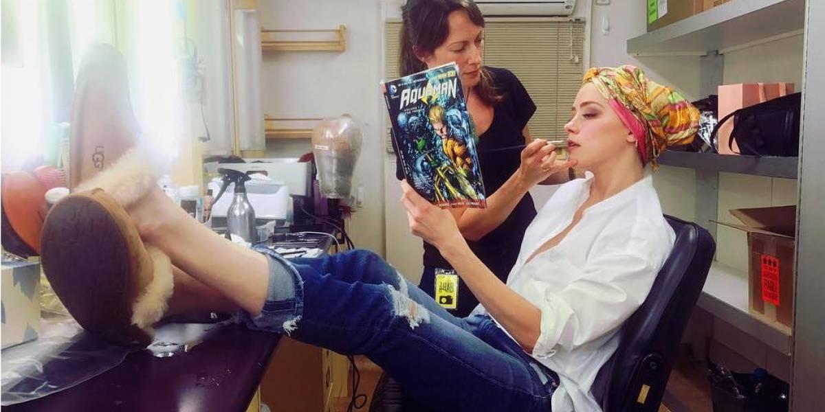 Revelan primera imagen de Mera para película de Aquaman