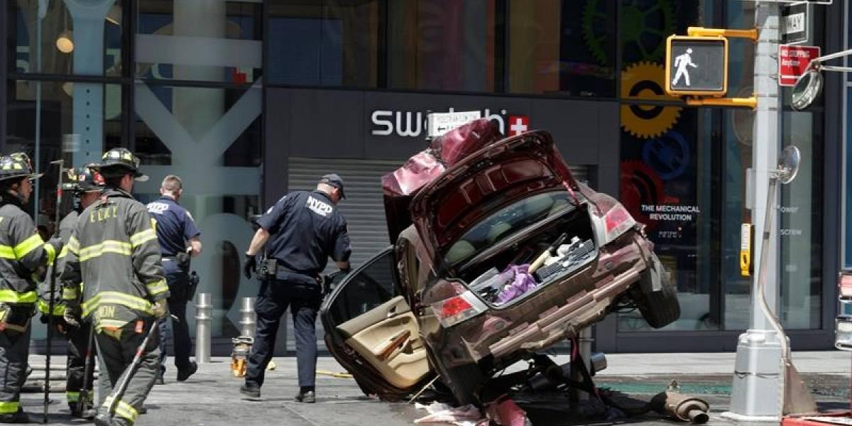Atropello masivo en Times Square, Nueva York: identifican a presunto responsable