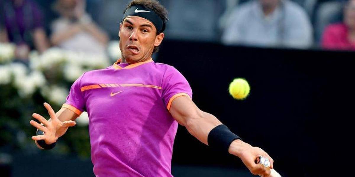 Nadal no para de ganar y Djokovic chocará con del Potro en Roma