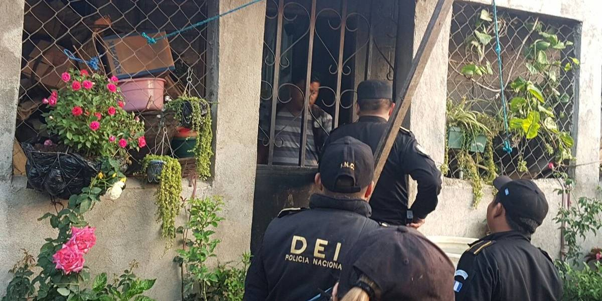 Nueve detenidos y un cadáver localizado durante operativo contra femicidio