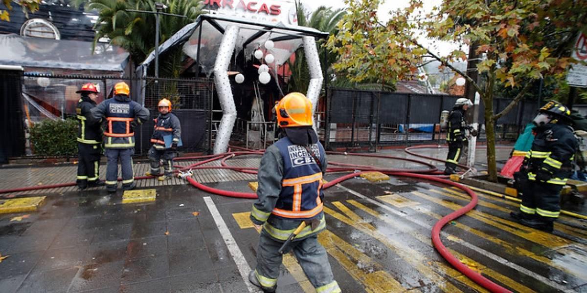 """Pérdidas por incendio que arrasó a discoteca """"Las Urracas"""" alcanzan el millón de dólares"""