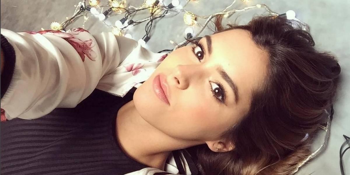 El sensual topless de Paulina Vega en redes sociales