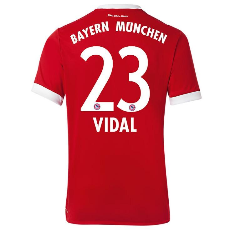 El Bayern de Arturo Vidal presenta su nueva camiseta