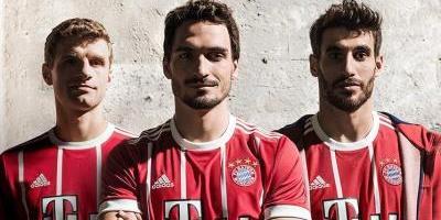 El Bayern Munich presenta su camiseta para la 2017