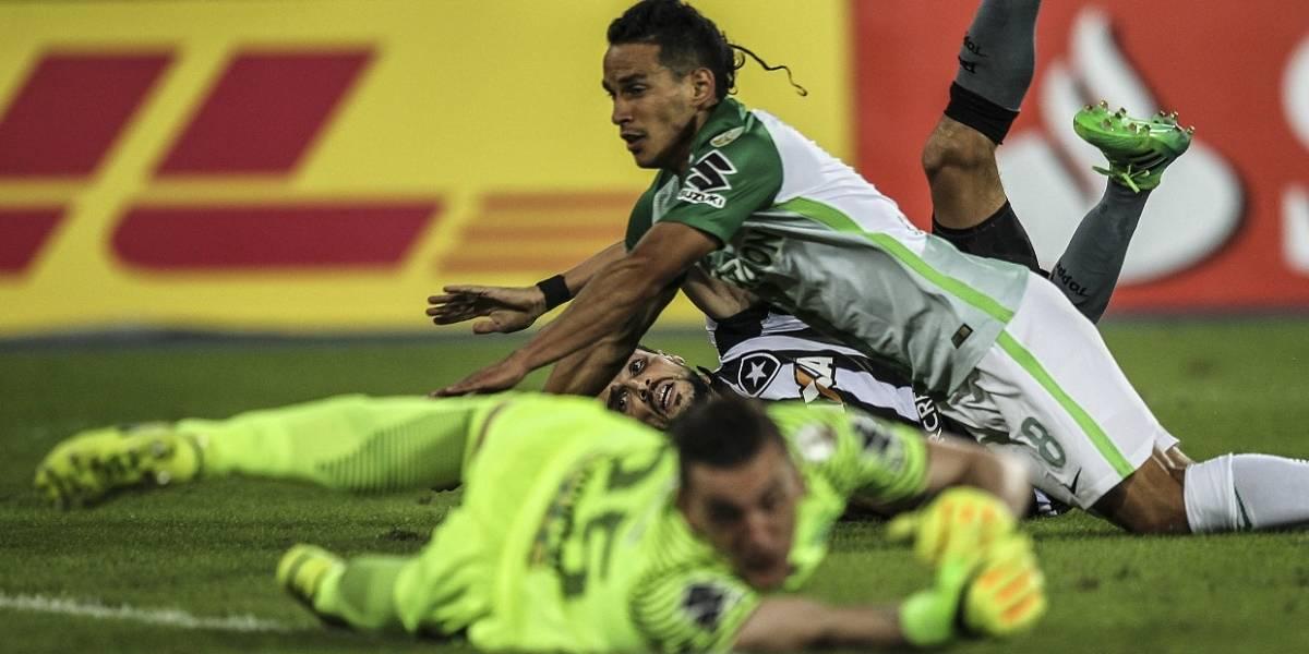 'El Rey de Copas' abdicó, Nacional perdió con Botafogo y quedó por fuera de la Libertadores