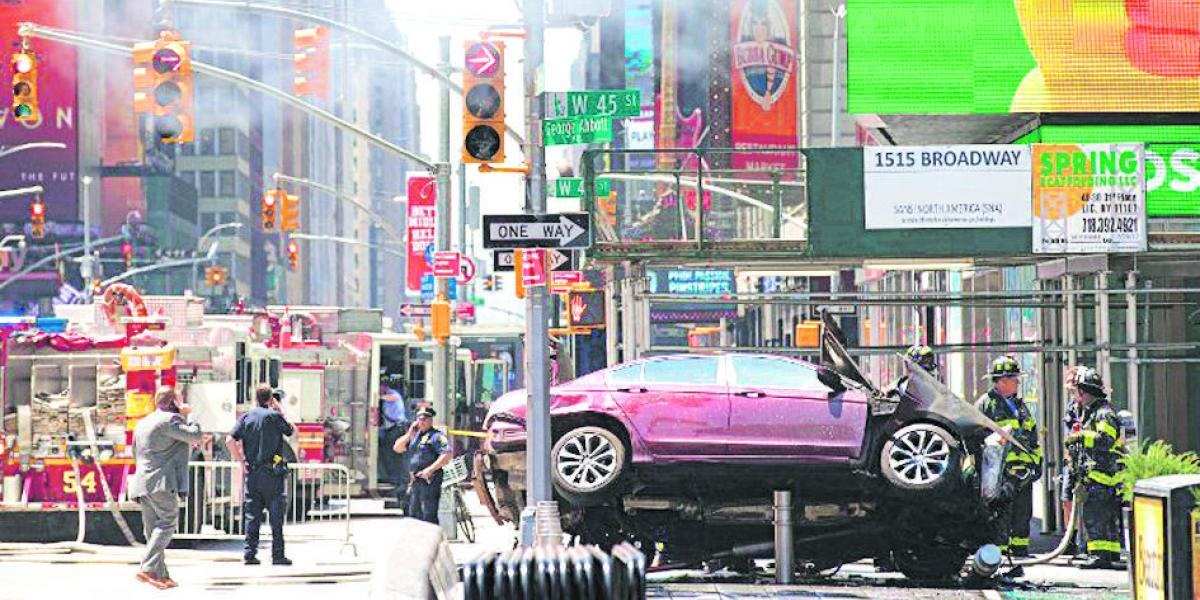 Un muerto y más de 20 heridos en el corazón de Nueva York
