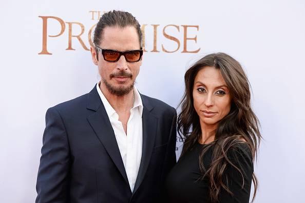 Chris Cornell y su esposa Vicky