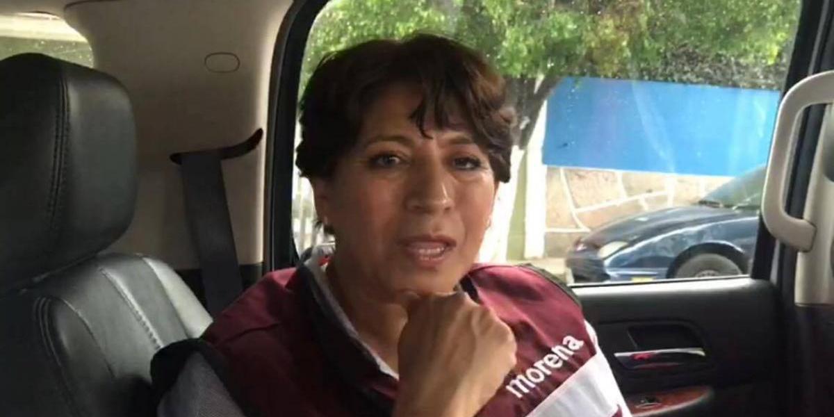 Yo no tengo que dar ninguna explicación: Delfina Gómez Álvarez