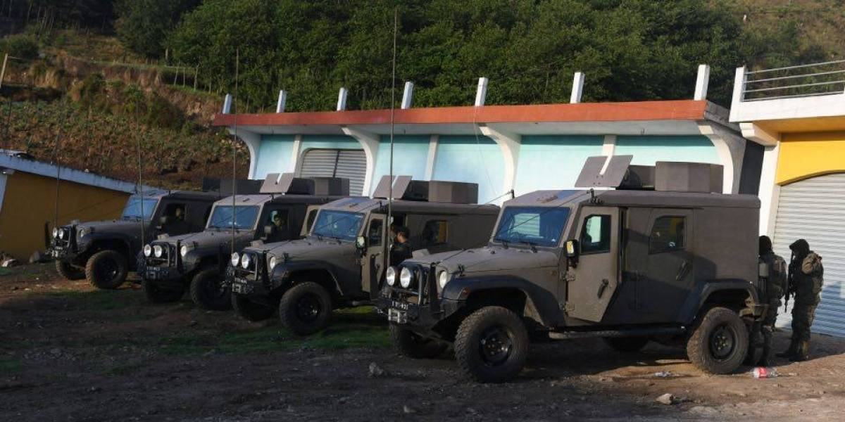 Autoridades toman control en al menos cinco puntos en Ixchiguán y Tajumulco