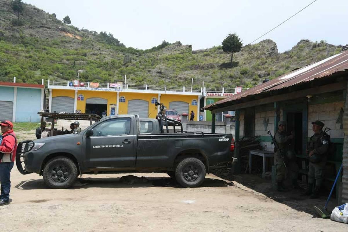 Estado de Sitio en San Marcos: Trincheras en la montaña evidencia ...