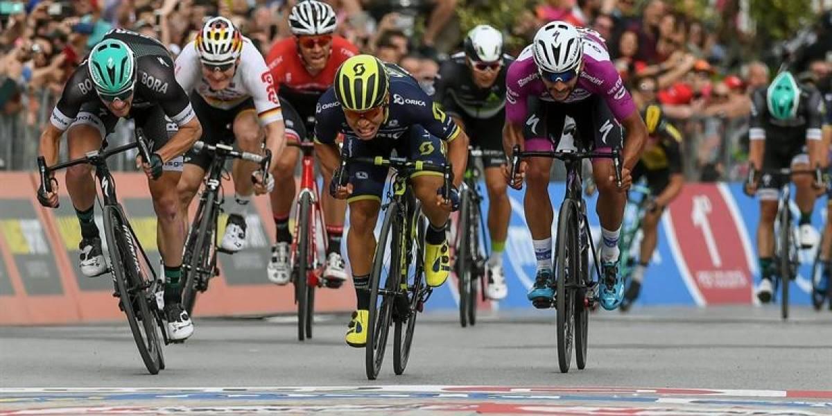 El video del emotivo triunfo de Fernando Gaviria en la etapa 12 del Giro de Italia