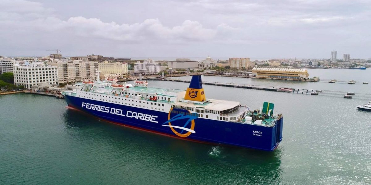 Estos son los itinerarios que cambió Ferries del Caribe por las marejadas